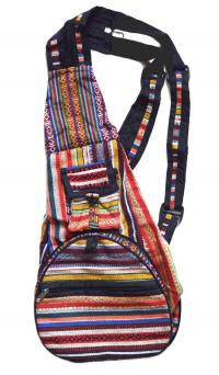 Рюкзак-трансформер, полоса с крестиками-ноликами.