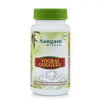Йогарадж Гуггул Sangam Herbals (60 таблеток).