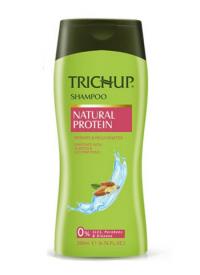 Шампунь с протеином Trichup Natural Protein (200 мл).