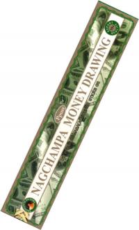 Благовоние Nagchampa Money Drawing (Денежный рисунок), 12 палочек по 20 см.