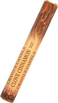 Благовоние Clove Cinnamon (Гвоздика и Корица), 20 палочек по 24 см.