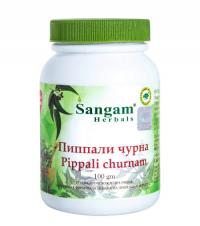 Пиппали чурна (Pippali churnam) Сангам Хербалс, 100 г.