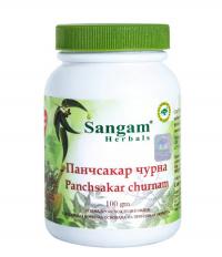 Панчсакар чурна (Panchsakar churnam) Сангам Хербалс, 100 г.
