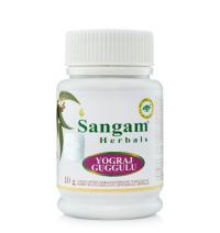 Йогарадж гуггул Sangam Herbals порошок, 40 г.