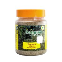 Черный перец молотый Sangam Herbals (90 г).