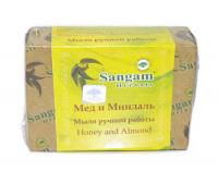 Мыло Sangam Herbals Мед и Миндаль (100 г).