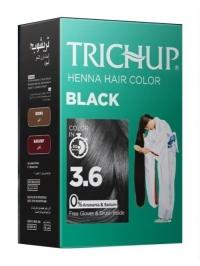 Краска для волос на основе хны Trichup (черная), 60 г.