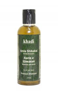 Шампунь для волос Khadi Амла и Шикакай, 210 мл.