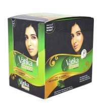 Хна для окраски волос Dabur Vatika Henna Hair Colors (черная), 20 пакетиков.