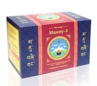 """Травяной чай """"Манну-4"""" (30 фильтр-пакетов)."""