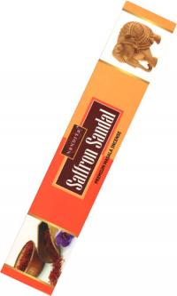 Благовоние Saffron Sandal, 12 палочек по 20,5 см.
