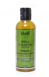 Шампунь для волос Khadi Трифала и Оливковое масло, 210 мл.