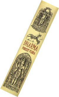 Благовоние Dharma Forest Fflora, 15 палочек по 21 см.