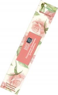 Благовоние Rose, 15 палочек по 21 см.