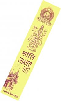 Благовоние Shanti Hit, 15 палочек по 21 см.