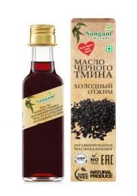 Масло черного тмина Sangam Herbals (100 мл).