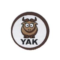 """Нашивка """"YAK"""", 3,8 см."""