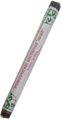 Купить Ароматические благовония Лилия, 19 палочек по 19 см в интернет-магазине Ариаварта