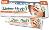 Зубная паста Dabur Herbal Clove (гвоздика).