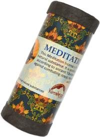 Купить Благовоние Meditation Incense, 24 палочки по 9,5 см в интернет-магазине Ариаварта