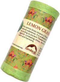 Купить Благовоние Lemon Grass Incense (Лимонная трава), 24 палочки по 9,5 см в интернет-магазине Ариаварта