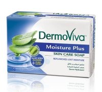 "Мыло ""Vatika DermoViva Naturals Moisture Plus""."