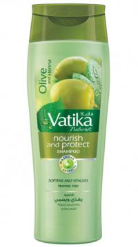 Шампунь для волос Dabur Vatika Naturals Nourish and Protect (питание и защита) (400 мл).