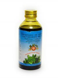 Массажное масло Текараджа на основе касторового масла (Thekaraja Castor Oil).
