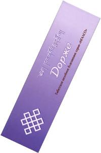 Благовоние Дорже, 20 палочек по 14 см.