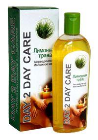 Аюрведическое массажное масло Лимонная трава (Ayurvedic Body Massage Oil Lemongrass).