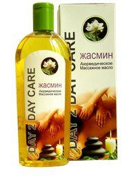 Аюрведическое массажное масло Жасмин (Ayurvedic Body Massage Oil Jasmine).