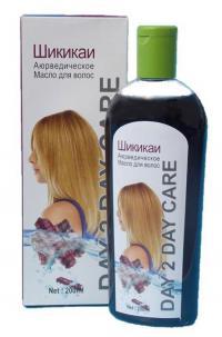 Купить Аюрведическое масло для волос Шикакай (Ayurvedic Hair Oil Day 2 Day Care Shikakai) в интернет-магазине Ариаварта