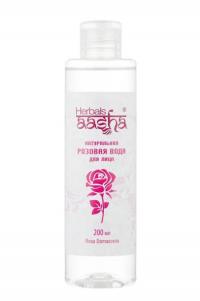 Натуральная Розовая вода Herbals AASHA, 200 мл.