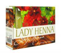 Краска для волос на основе хны Lady Henna (Светло-коричневый, тон 5).