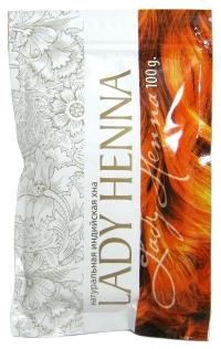 Натуральная индийская хна Lady Henna, 100 г.