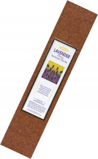 Благовоние Lavender (Лаванда), 10 палочек по 21 см.