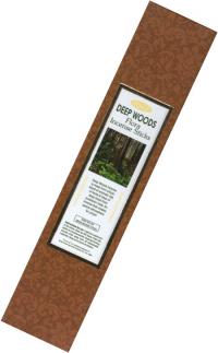 Благовоние Deep Woods (Лесная чаща), 10 палочек по 21 см.