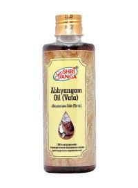 Абхьянгам Ойл (Вата) / Abhyangam Oil (Vata), 200 мл.