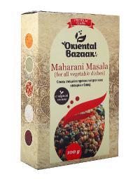 Смесь специй и пряностей для всех овощных блюд Maharani Masala (for all vegetable dishes).