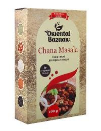 Смесь специй для гороха и овощей (Chana Masala).