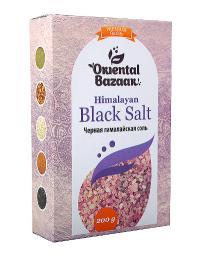 Черная гималайская соль (200 г).
