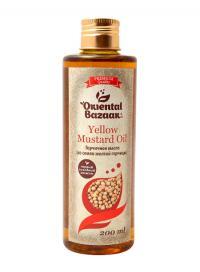 Горчичное масло (из семян желтой горчицы) / Yellow Mustard Oil (200 мл).