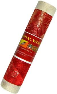 Благовоние Red Sandal Wood (Красный сандал), 19 палочек по 19 см.