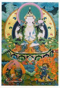 Открытка Авалокитешвара (7 x 10 см).
