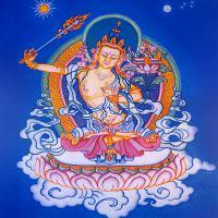 Плакат Манджушри (30 x 30 см).