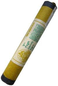 Благовоние Желтый Дзамбала, 25 палочек по 21 см.