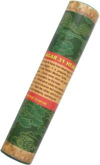 Купить Благовоние Agar 31 Healing Incense, 14 палочек по 19 см в интернет-магазине Dharma.ru