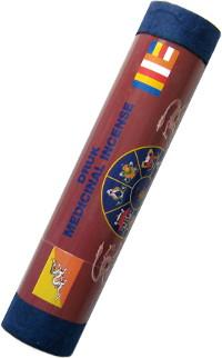 Благовоние Druk Medicinal Incense. Yogi, 21 палочка по 19 см.