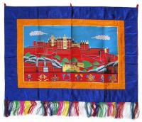Баннер с Поталой (синий, 68 x 96 см).