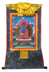 Тханка Будда Акшобхья (печатная).